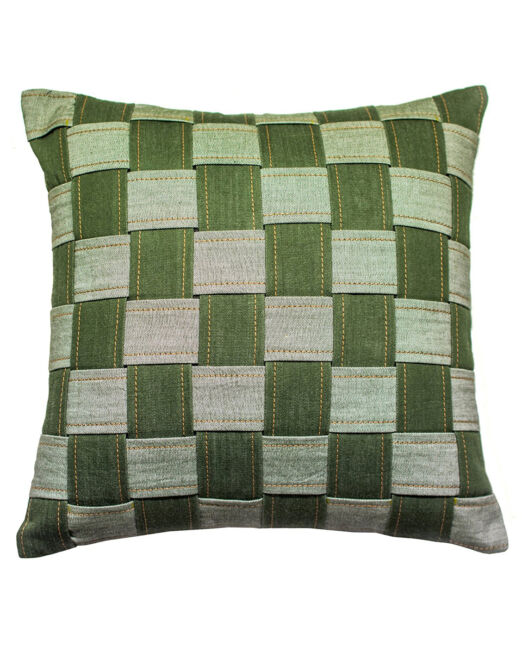 cushion_cover_chess_board_olive_green