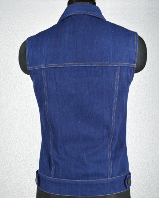 handloom_denim_trucker_sleeveless_jacket_back_view