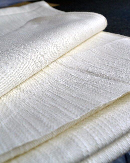 Unique Rich Texture of Medium Weight Khadi Handloom Selvedge Denim 8-9 Oz (Undyed)