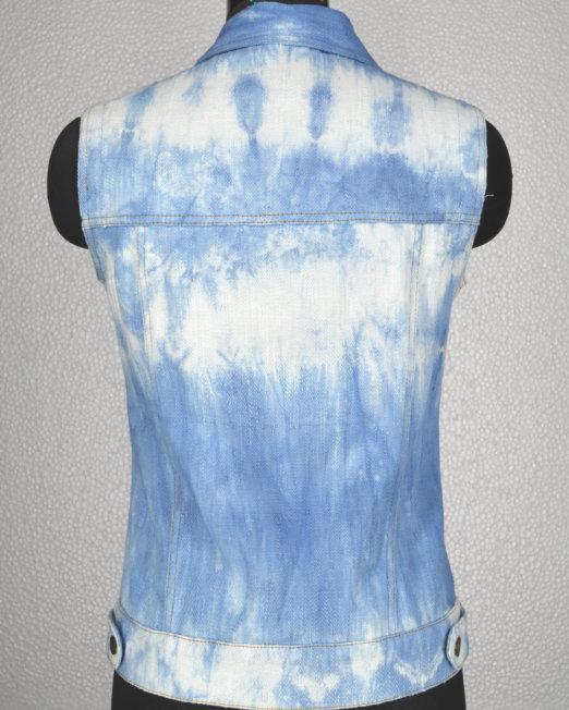 khadi_trucker_tieNdye_sleeveless_natural_indigo_back_view