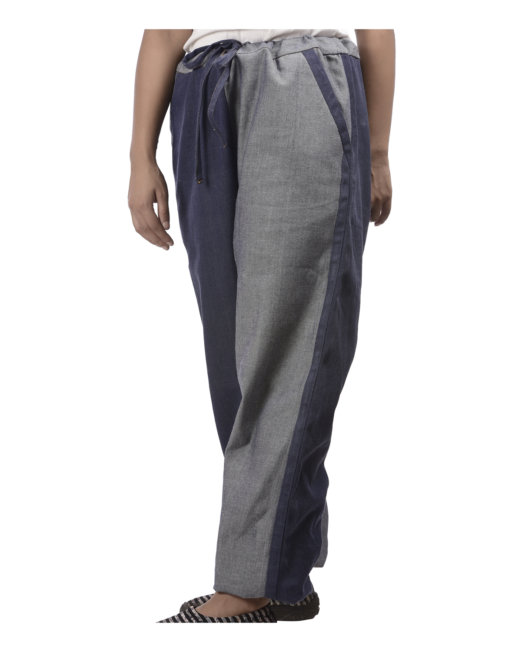 Eco-friendly Handloom Denim Day & Night Pyjama Hand-stitched - Unisex